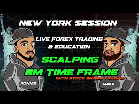 Live Forex Trading & Analysis – New York Session – 5 Min Scalping
