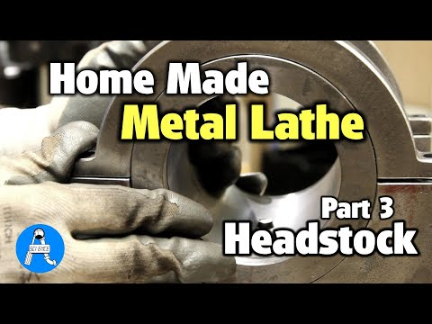 metal lathe home made part 3 headstock