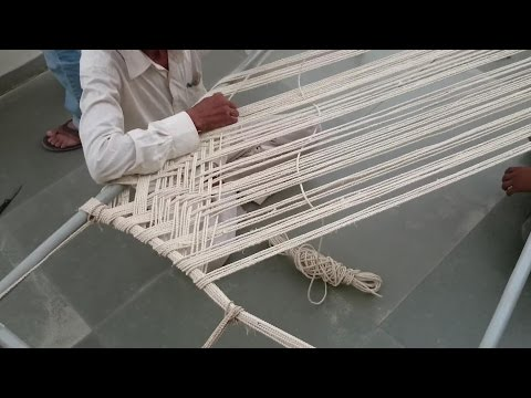 How to Make Rope Bed - Khatlo - Charpoy