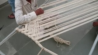Making Of Rope Bed - Khatlo - Charpoy