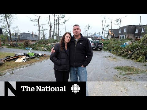 Ontario tornado victims reflect on life-changing disaster