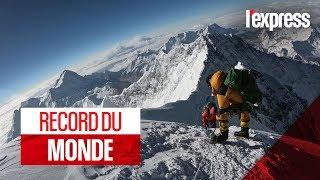 Alpinisme : 14 sommets de 8000 mètres en moins de sept mois