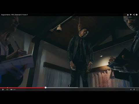 August Alsina   ''FML'' Ft Pusha T { Official Music Video Review}