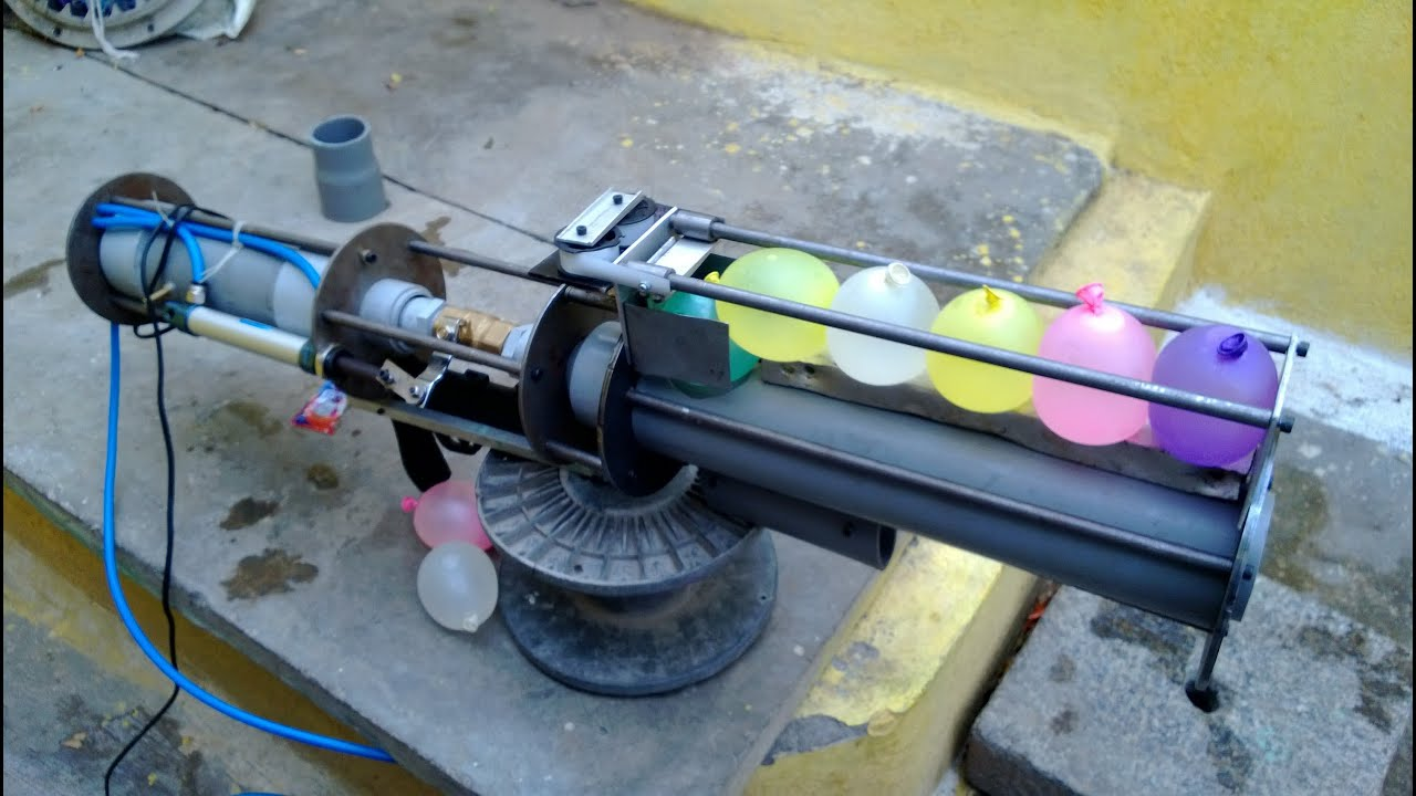 Tennis Ball Cannon Gun Part 1 Youtube