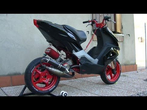aprilia sr 50 tuning youtube. Black Bedroom Furniture Sets. Home Design Ideas