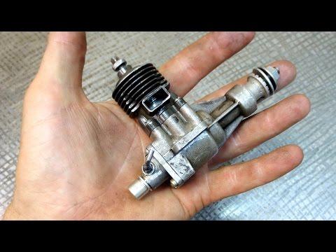 Микродвигатель работающий на эфире КМД 2.5