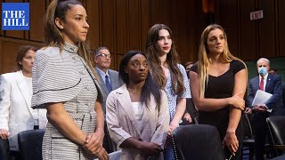 Gymnasts testify in front of Senate on Larry Nassar abuse