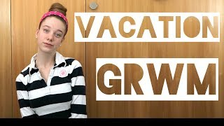 VACATION GRWM! Hair and Makeup on the go!
