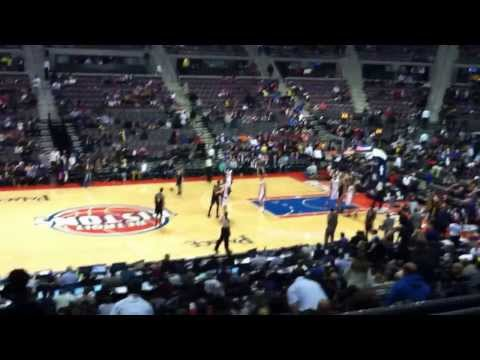Jazz Pistons 1-17-04 End of Game - Boos rain down on Detroit