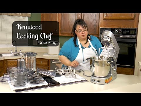 Kenwood Cooking Chef Stand Mixer Unboxing ~ Stand Mixer Review Part 1 ~ Amy Learns To Cook