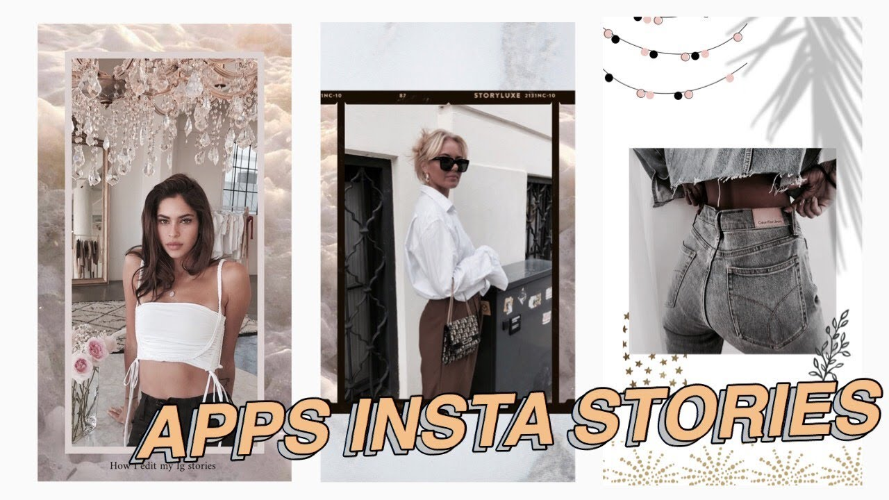 APPS FOR INSTAGRAM STORIES // How I edit my Ig stories