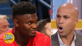 Ja Morant is great, but Zion Williamson's debut proved he's different - Richard Jefferson | The Jump