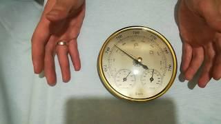 термометр / барометр Rhythm 8RE648WR03 обзор