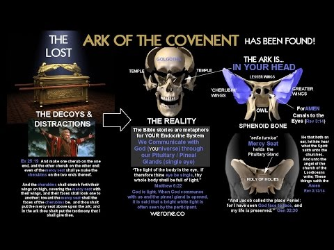 THE ARK OF THE COVENANT IN THE TEMPLE OF MAN (prt 1)