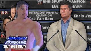 Smackdown: Shut Your Mouth Season Mode Part 1 - WWE Draft! Eddie Guerrero!
