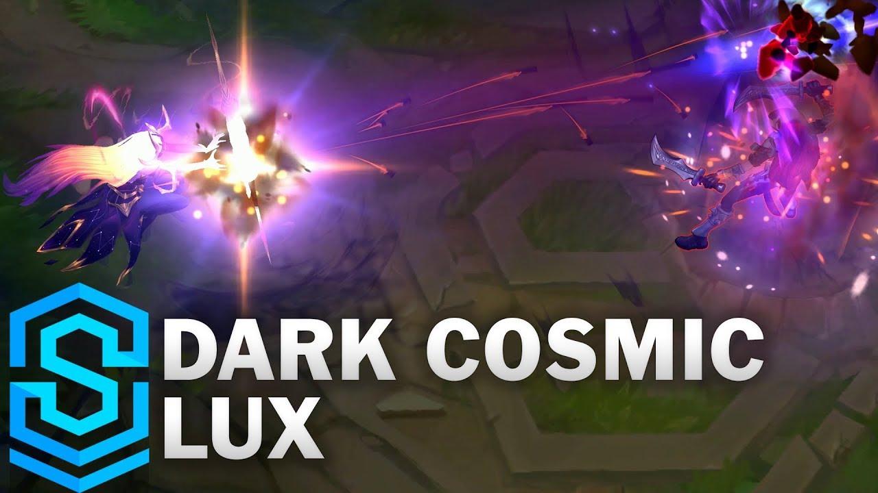 Dark Cosmic Lux Skin Spotlight - League of Legends