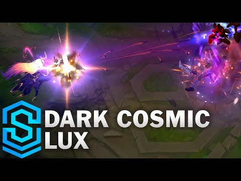Dark Cosmic Lux Skin Spotlight - League of Legends