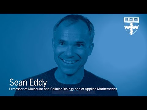 Sean Eddy: Selecting a Research Area