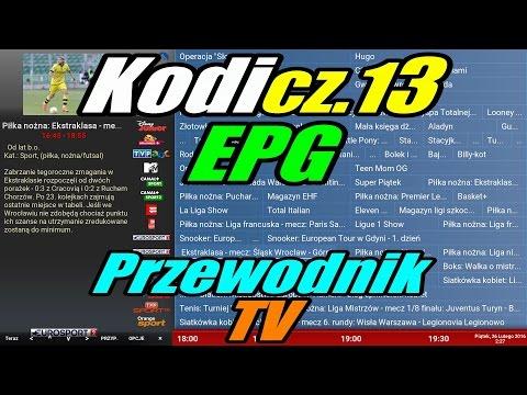 [Kodi cz.13] EPG - Przewodnik po programach TV (29/05/16-wtyczka już płatna, więcej info w opisie)