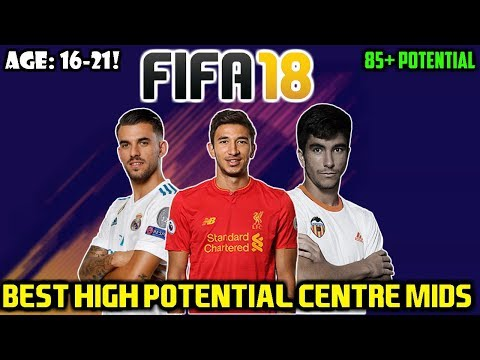 FIFA 18: BEST CM'S WITH HIGH POTENTIAL TO BUY ON CAREER MODE (Any Teams/16-21!)