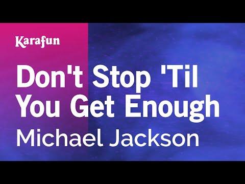 Karaoke Don't Stop 'Til You Get Enough - Michael Jackson *