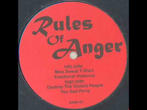 Rules Of Anger - Miss Sweat T-Shirt