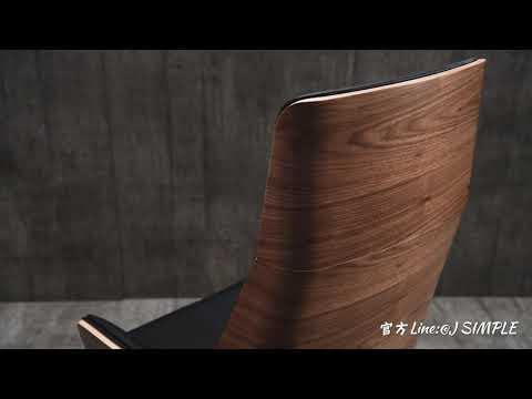 【J Simple家具】Jada傑達工業風辦公椅 人體工學椅 /辦公椅//主管椅/工作椅 OA家具/電腦椅