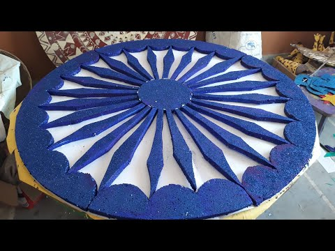 Republic day and Independence day decoration-Ashoka chakra