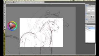 INTUOS ART: Rough Drawing in Corel Painter Essentials with Aaron Blaise