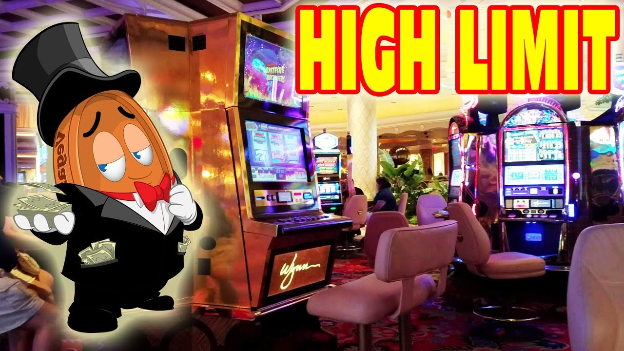 High Limit Slot Machines
