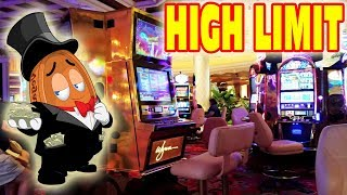 HIGH LIMIT SLOT MACHINE GAMBLING