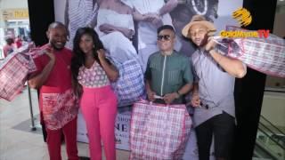OSUOFIA BLOSSOM CHUKWU AND YVONNE OKORO AT PRESS SCREENING GHANA MUST GO