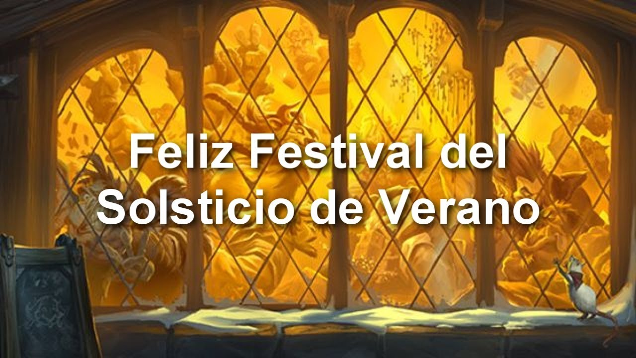 Frase Héroes Feliz Festival De Fuego En Hearthstone Castellano