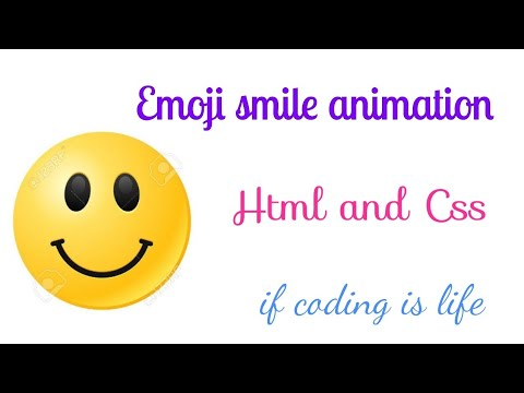 Emoji Smile And Sad Animation | Html And CSS | If Coding Is Life 🔥🙏☝️👌🙋🏻‍♂️
