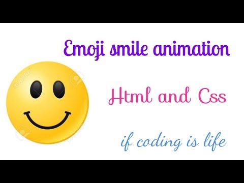 Emoji Smile And Sad Animation   Html And CSS   If Coding Is Life 🔥🙏☝️👌🙋🏻♂️