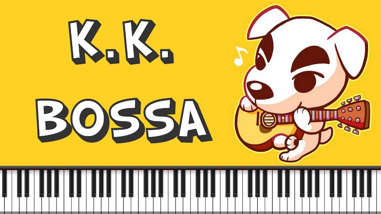 Synthesia Piano Tutorial K K Bossa Animal Crossing Youtube