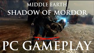 Middle Earth Shadow of Mordor | PC GAMEPLAY & interview [30 mins]