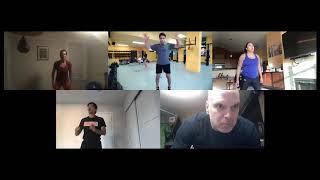 Boxing training on Zoom 4