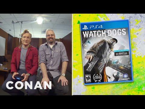 """Clueless Gamer: Conan Reviews """"Watch Dogs"""""""