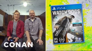 "Clueless Gamer: Conan Reviews ""Watch Dogs"""
