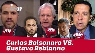 Carlos Bolsonaro x Gustavo Bebianno