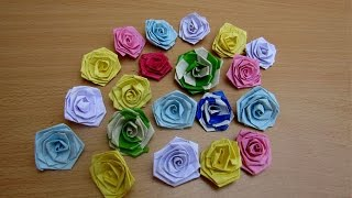 How to Make a Quilling Paper Lucky Rose - Easy Tutorials