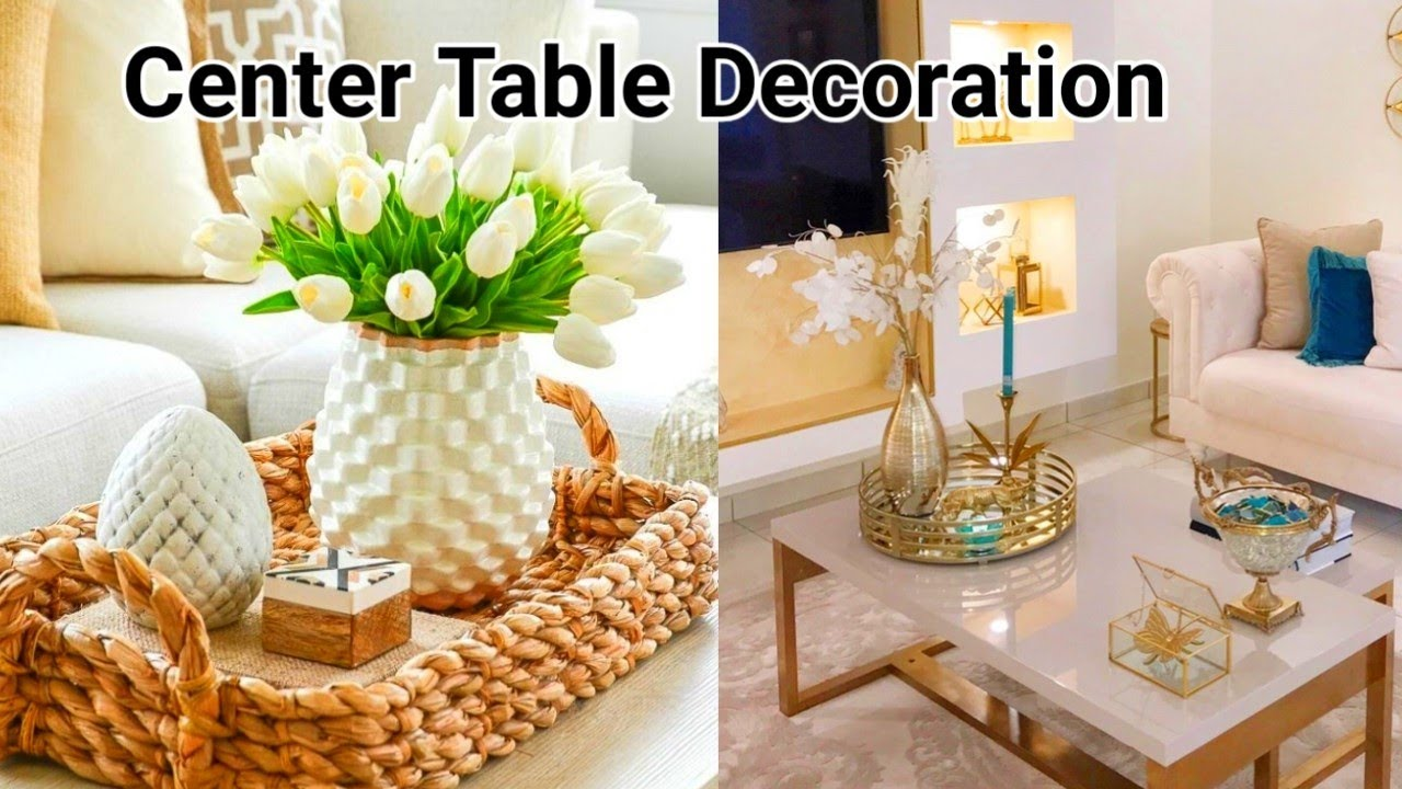 Table Decoration Ideas For Diwali, Center Table Decoration For Living Room