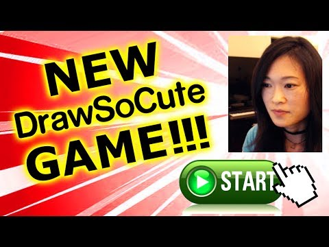 NEW Draw So Cute Game! Cup-A-Cake!