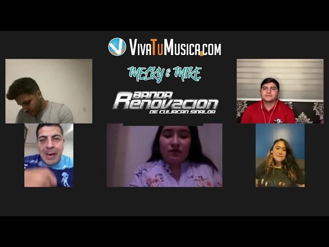 Viva y Sus Artistas presenta a Melky & Mike de la Banda Renovación Culiacán Sinaloa!