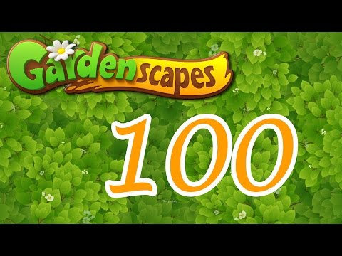 Gardenscapes Level 100