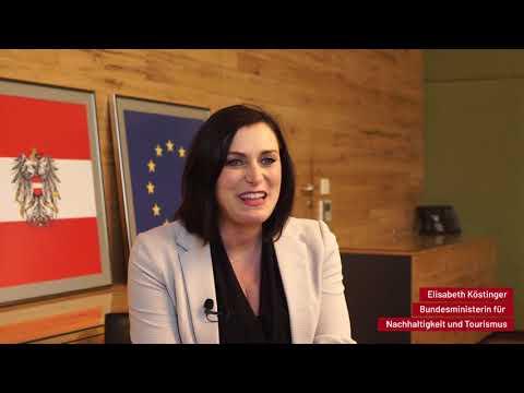 Routes Vienna 2018 - Unsere Partner stellen sich vor: Elisabeth Köstinger