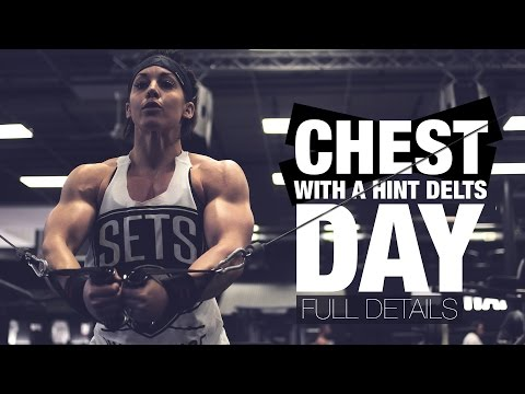 CHEST DAY (W/ A HINT OF DELTS) | FULL WORKOUT | DANA LINN BAILEY
