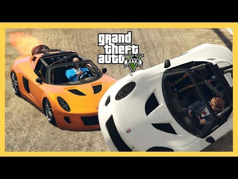 At The Races with Voltic Rocket & Ruiner 2000! (GTA 5 Online)