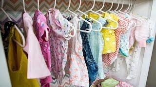 How To - Kristin Smith's DIY Baby Wardrobe Closet - Hallmark Channel